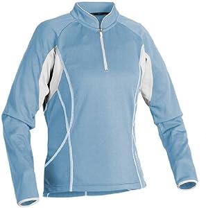 Serfas Women's Cirrus Long Sleeve Jersey - SKY(BLUE)/WHITE, X-Large