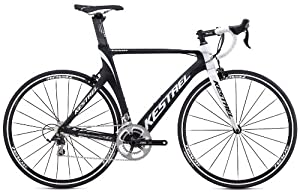 2014 Kestrel Talon Road Shimano 105 Carbon Fiber 55CM Bike 3035194655 White/Blk