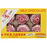 Tunnock's 6 Milk Chocolate Tea Cakes (Pack of 12)
