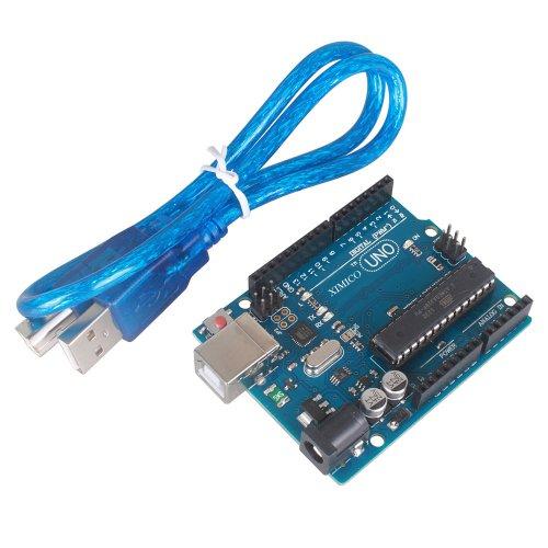 Ximico Uno R3 Atmega328P Development Board + Usb Cable Compatible With Arduino Uno R3 Mega 2560 Nano Robot / New Uno R3 Rev3 Development Board Atmega328P Atmega16U2 Avr Usb For Arduino