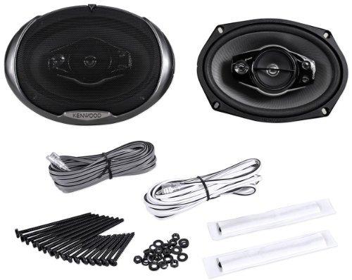 "Kenwood Kfc-6994Ps 6""X9"" 500 Watt 5-Way Car Audio Coaxial Speakers 6X9 With Grilles"