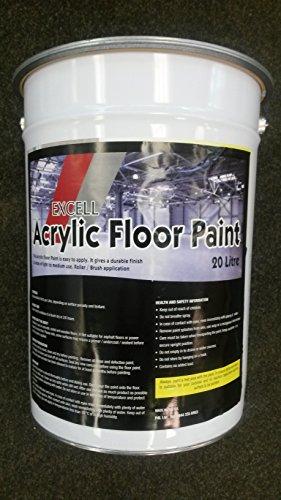 Acrylic Floor Paint 20Ltr Red