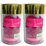 Ellips(エリプス)ヘアビタミン(50粒入)2個セット [並行輸入品][海外直送品] ピンク