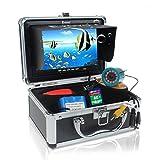 "Seesii 赤外線 30M 7"" LCD HD 釣り用 魚群探知機 水中 ビデオ カメラ DVR フィッシュ ファインダー 4G SD 画像"