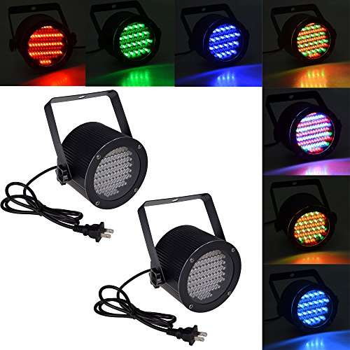 2X25W 86 Rgb Led Stage Light Par Dmx-512 Lighting Laser Projector Party Disco Pub Ktv Dj Lamp