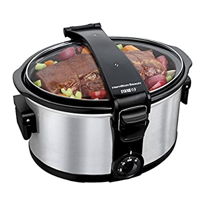 Hamilton Beach 33472 7 qt. Stay or Go Portable Slow Cooker by Power Sales and Advertising Inc