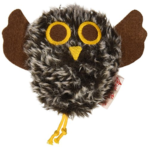 Kathe Kruse Stuffed Rattle, Brown Owl