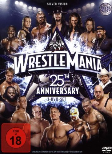 WWE - Wrestlemania 25 (3 DVDs)