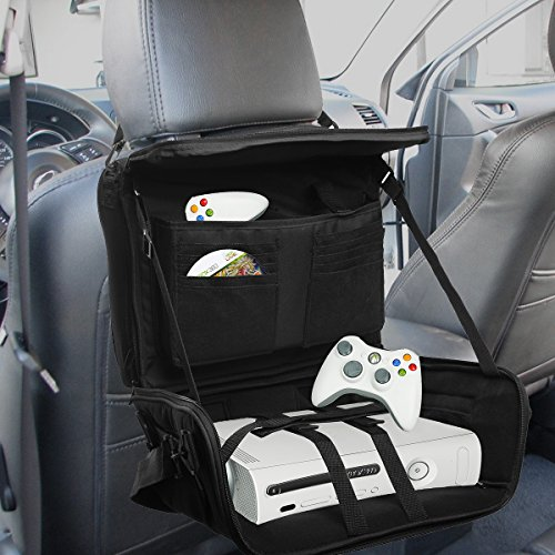 Travel Gaming Bag Console Game Controller Portable Organizer Car Seat Back Mount (Travel Gaming Console compare prices)