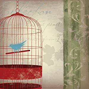 Twitter I Art Poster Print by Asia Jensen, 12x12