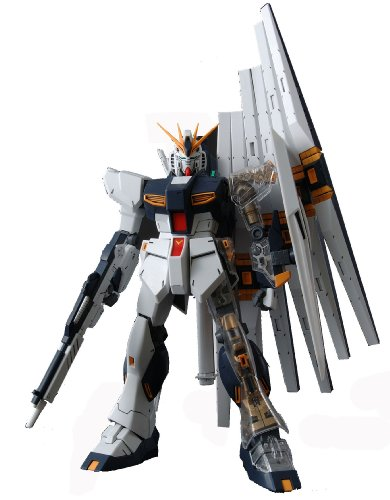 Gundam RX-93 Nu Gundam with Extra Clear Body parts MG 1/100 Scale