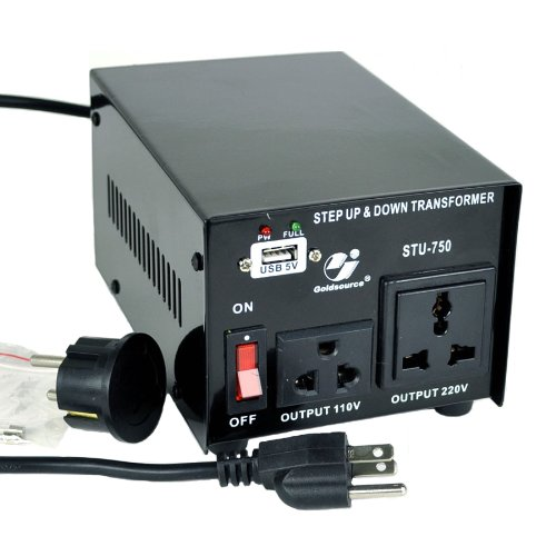 Goldsource STU-750 Step Up/Down Voltage Transformer Converter - AC 110/220 V - 750 Watt