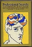 Professional Secrets: An Autobiography of Jean Cocteau (0374237522) by Jean Cocteau