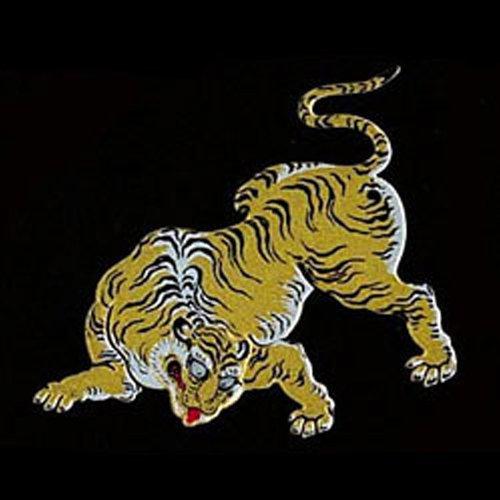 彩蒔絵本舗 京の彩蒔絵転写シール「二条城虎」  NIJO-03