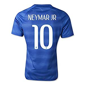Amazon.com : Nike Brazil #10 NEYMAR JR Short Sleeve Away Jersey X