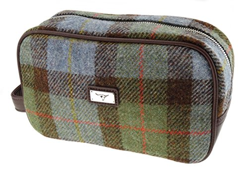 100-authentic-harris-tweed-toiletry-wash-bag-gunn-tartan