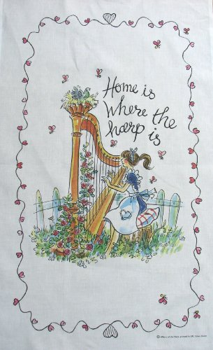 home-is-where-the-harp-is-the-serviette-coton-lin-blanc-79x49
