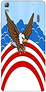 Snoogg Bald Eagle 4Th Of July Vector Theme Design Designer Protective Back Ca...