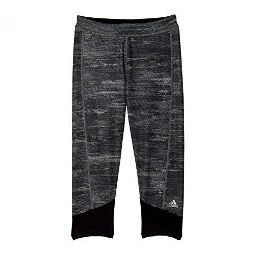 Adidas Tf C Macrohth Collant, Donna, Nero/Grigio (Negro/Print/Plamat), 2XL