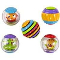 Bright Starts Roll Shake and Spin Activity Balls (Assorted Colors)