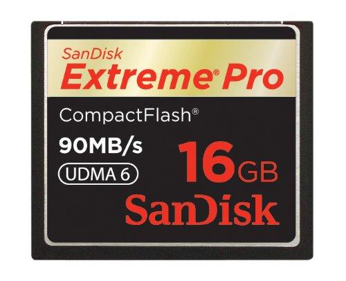 【Amazonの商品情報へ】SanDisk Extreme Pro コンパクトフラッシュ 16GB 90MB/Sec. SDCFXP-016G-J91