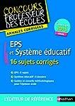 EPS et Syst�me �ducatif / Admission 2015
