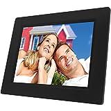 NAXA Electronics NF-800 8-Inch TFT LCD Digital Photo Frame with LED Backlight 800 x 600 (Black)