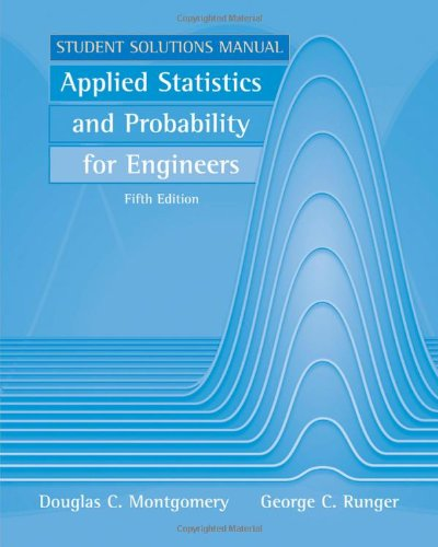 Applied Statistics and Probability for Engineers, Student...