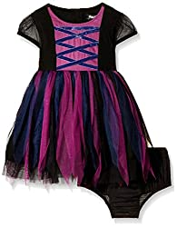 Nauti Nati Girls Casual Dress (NAW15-154_Black_2Y)