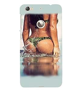 PrintVisa Hot & Sexy Girl 3D Hard Polycarbonate Designer Back Case Cover for LeEco Le 1S