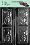 Cybrtrayd S016 Karate Chocolate Candy Mold with Exclusive Cybrtrayd Copyrighted Chocolate Molding Instructions