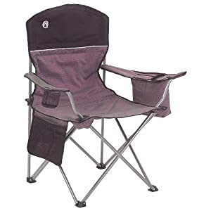 Coleman 2000003082 Cooler Quad Chair Gray/Black