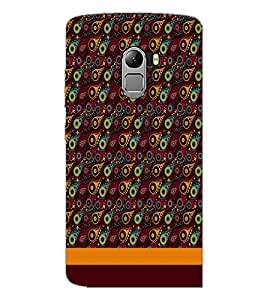 PrintDhaba Pattern D-1855 Back Case Cover for LENOVO K4 NOTE A7010 (Multi-Coloured)