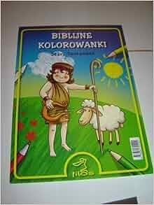 Old Testament Themes / Biblijne Kolorowanki Stary Testament / Tekst