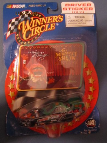 Winners Circle Driver Sticker Series Tony Pedregon Syntec X