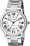 Cartier Men's W6701011 Ronde Solo Analog Display Automatic Self Wind Silver Watch