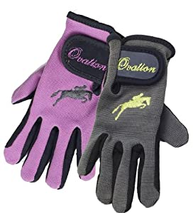 Ovation Kids Suede Palm Girlie Glove