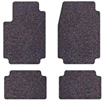 Intro-Tech Designer Front and Second Row Custom Floor Mats for Select Isuzu Pickup Models - Carpet (Mink)