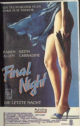 Final Night - Die letzte Nacht [VHS]