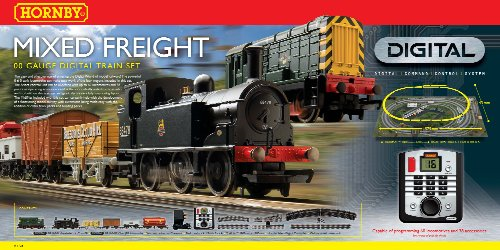 Hornby  R1126 Mixed Freight 00 Gauge Digital (DCC)  Train Set