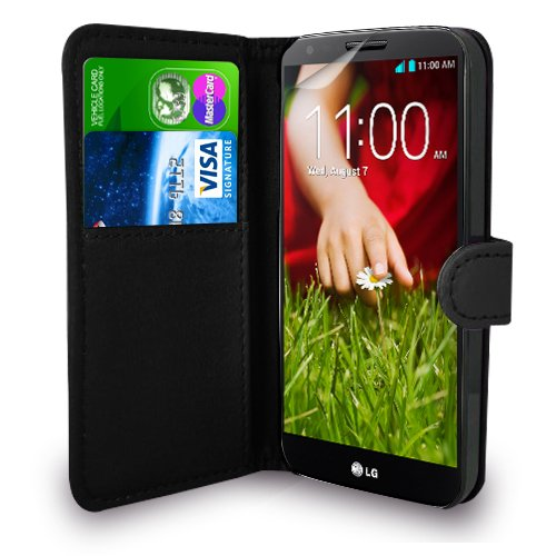 lg-g2-d802-black-leather-wallet-flip-case-cover-pouch-screen-protector-polishing-cloth