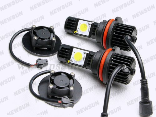 Newsun 1800Lm 9007 Hb5 High Low Cree Cxa1512 Led Headlight Car Truck Head Light Bulb 5000K White