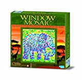 Easy-To-Do Window Mosaic Art - Safari (Only One Activity Kit Supplied) (Styles May Vary)