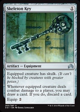 Magic: the Gathering - Skeleton Key (263/297) - Shadows Over Innistrad (Tabletop Skeleton compare prices)