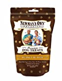 Newmans Own Organics Premium Dog Treats, Peanut Butter, Medium Size, 10-Ounce Bags (Pack of 6)
