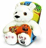 WWF Endangered Friends Polar Bear by Keel Toys - 25cm