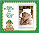 Happy St. Patrick's Day to my Charmin' Aunt Picture Frame Gift