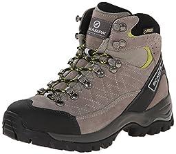 Scarpa Women\'s Kailash GTX Hiking Boot, Taupe/Acid, 38 EU/7 M US
