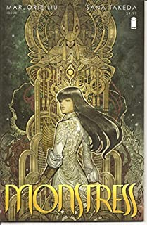 Book Cover: Monstress