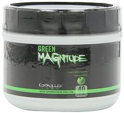 Controlled Labs Green Magnitude, Creatine Matrix Volumizer, 40 Serving, Sour Green Apple, .92-Pound Tub